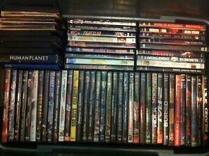 Assortment of Movies, TV Shows & Documentaries