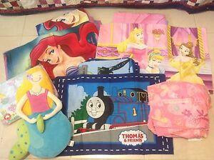 Disney Princesses Ariel Thomas Single Doona Cover sets & beanbags Northwood Lane Cove Area Preview
