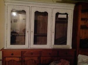 BRAND NEW  whitewash hutch   Great for display cabinet. Bald Hills Brisbane North East Preview