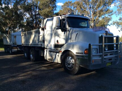 Kenworth t401 truck and dog IT sleeper gorski dog trailer Cecil Park Liverpool Area Preview