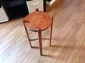 "Wooden plant stand 2ft tall x 10.5"" wide"