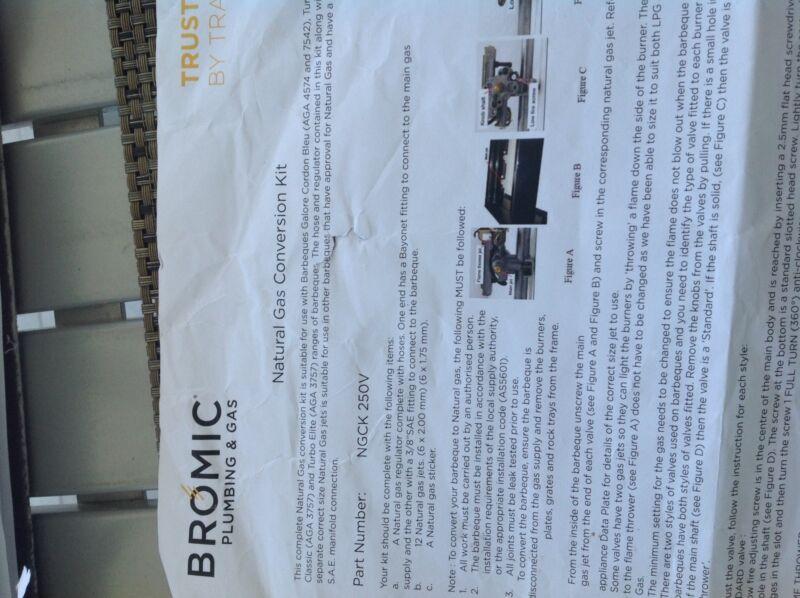 Gas Lpg To Natural Gas Conversion Kit Bbq Gumtree Australia