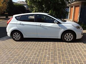 2016 Hyundai Accent Hatchback - auto white - only 3 months old! Woolloomooloo Inner Sydney Preview