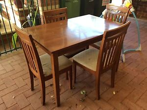 Small table and 4 chairs Waikiki Rockingham Area Preview