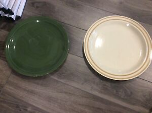 2 different plate sets