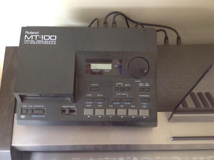 MT100 Roland Digital Sequencer and Sound Module