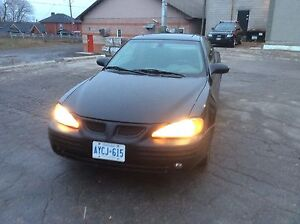 2002 PONTIAC GRAND AM  2 DOOR