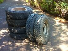 4WD Six Tyres, Tubes and Rims Tanunda Barossa Area Preview