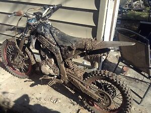 Dirt bike with quad motor