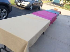 3 TABLES FOR YARD SALES ....