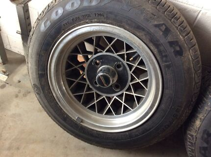 Ford Cortina / Escort Rims and Tyres