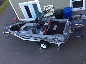 17.5' bass fishing boat for sale open to offers