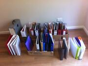 LEVER ARCH FOLDERS AND RING BINDERS PLUS DOCUMENT HOLDERS Ardross Melville Area Preview