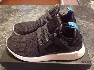 NMD XR1 Primeknit Black/Blue US 9.5 Southport Gold Coast City Preview