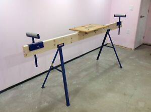 Trojan collapsing mitre saw stand