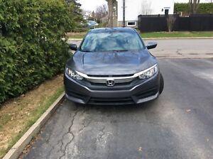 Honda civic LX 2017Bonus de $500  et transfert de bail payé
