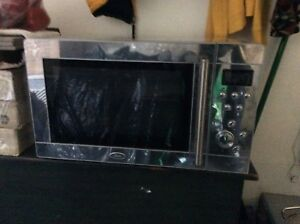 Stainless Oster Microwave