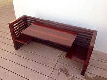 Children's table & chairs- booth seat- solid jarrah Butler Wanneroo Area Preview