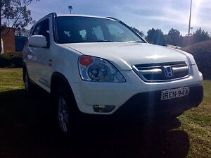 2002 Honda CRV Sport Luxury SUV excellent Condition Woodbine Campbelltown Area Preview