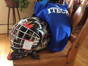ITECH adult hockey helmet