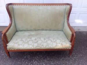 Antique Settee and Chair circa early 1900's