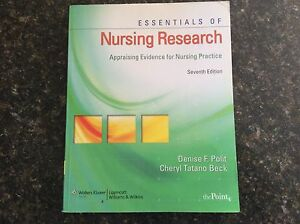 Nursing research text book