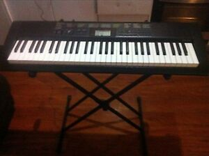 CASIO CTK-1100 DIGITAL KEYBOARD WITH STAND AS PER PHOTOS Manly Manly Area Preview