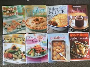 Woman's weekly cook books bulk buy Mosman Mosman Area Preview