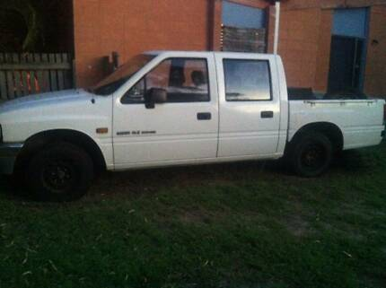 1992 Holden Rodeo Dualcab 2wd