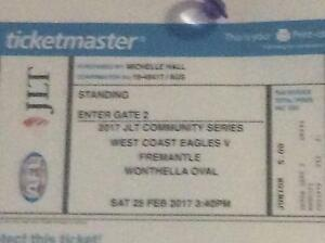 West Coast vs Fremantle tickets Dianella Stirling Area Preview