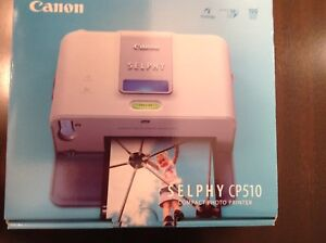 Canon SELPHY CP510 Compact Photo and KP -108lP