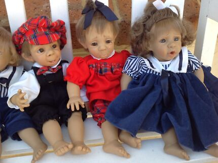 Set of 8 collectable dolls Currambine Joondalup Area Preview