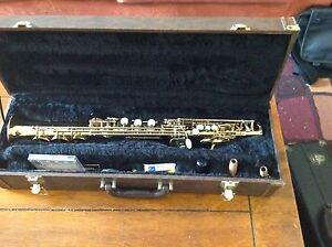 Soprano Saxophone, dual neck French Minerva Marayong Blacktown Area Preview