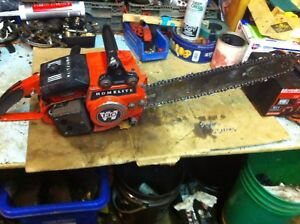 3 XL 76 homelite saws and 2 XL130 saws all compleat $375obo