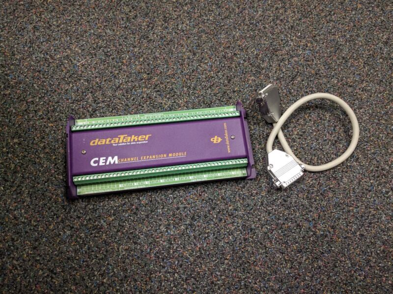 dataTaker CEM (Channel Expansion Module) with cable