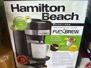 Brand new Hamilton beach flexbrew