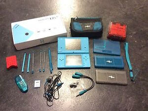 Blue Nintendo DSi with 11 Games