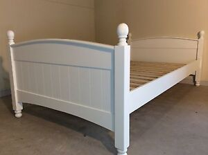 NEW King single bed frame white 4 posts SYDNEY DELIVERY &ASSEMBLY Windsor Hawkesbury Area Preview