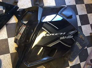 2006 Skidoo Mach Z right side panel.