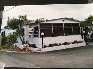 Maison mobile double Hallandale en Floride