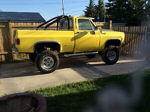 1978  Chevy short box 4x4