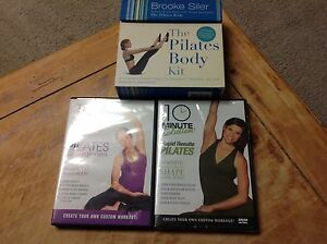 Pilates DVD and flash card lot with cd