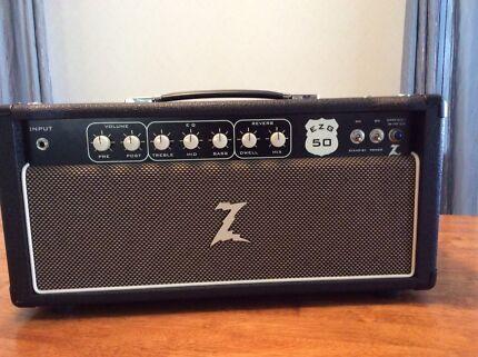 Dr Z EZG50 guitar amp head
