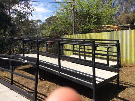 access ramps , adjustable