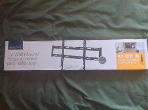 "Insignia 47"" - 80"" Fixed TV Wall Mount (New)"
