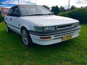 1992 Toyota Corolla Seca CSI Auto Twin Cam Top Condition Woodbine Campbelltown Area Preview