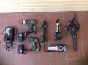 Hitachi 18v cordless power tool set Stafford Heights Brisbane North West Preview