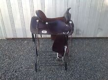 Western Saddle wide gullet fully mounted Gordon Moorabool Area Preview
