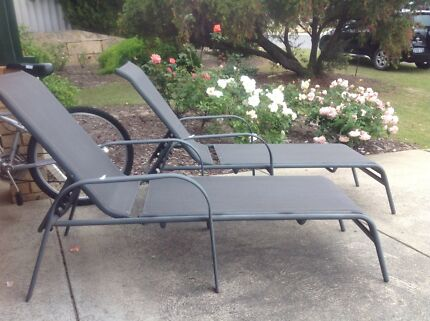 Outdoor lounges pending pickup lounging relaxing for Outdoor furniture joondalup