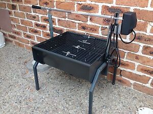 Mini spit roaster with 240V rotisserie - assembled but never used Keperra Brisbane North West Preview